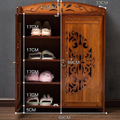 LVZAIXI Designer Möbel Handgefertigt Massiv Sideboard Kommode | | Country Design | Kommode | (Farbe : 02, Größe : 69*33*89cm)