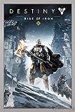 Close Up Destiny Poster Rise of Iron (66x96,5 cm) gerahmt in: Rahmen Silber