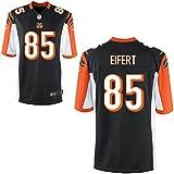 85 Tyler Eifert Trikot Cincinnati Bengals Jersey American Football Shirt Mens Black Size L(44)