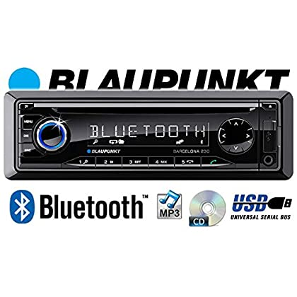 JVC KD-X341BT Bluetooth JUST SOUND best choice for caraudio Einbauset f/ür VW Lupo Android MP3 iPhone Autoradio USB