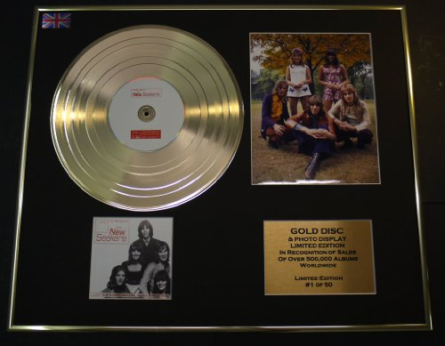 THE NEW SEEKERS/CD GOLD DISC/RECORD & PHOTO DISPLAY/LTD. EDITION/COA/THE VERY BEST OF