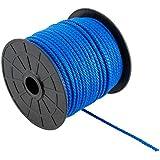 Suki PP cuerda, azul, trenzado 3mm x 60m, 60unidades, 3818064