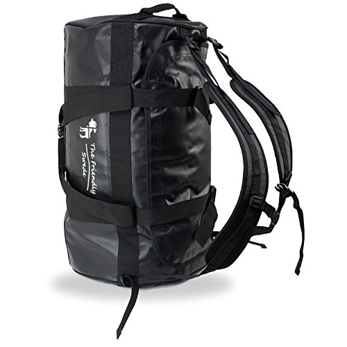 the-friendly-swede-water-resistant-combined-duffle-bag-and-backpack-capacity-60-l-lifetime-warranty