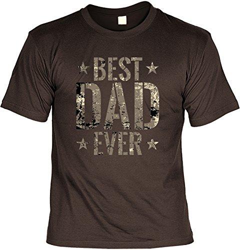 Super T-Shirt mit Urkunde: Best Dad Ever (Beste Original Outfits Ever)