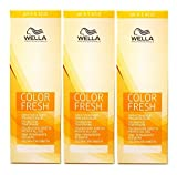 3 er Pack Wella Color Fresh Tönungsliquid 5/07 HELLBRAUN NATUR-BRAUN 75 ml