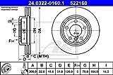 ATE 24032201601 Bremsscheibe Power Disc - (Paar)