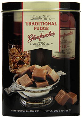 Gardiner\'s of Scotland Glenfarclas Malt Whisky Fudge Tin 300g, 1er Pack (1 x 300 g)