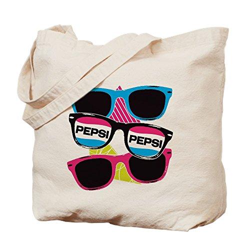CafePress Pepsi Brillenbeutel, canvas, khaki, M
