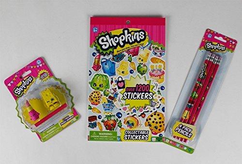 Topper - Pinces à Crayons Shopkins M3