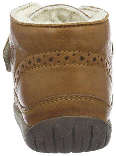 Naturino Falcotto 334 Vl, Chaussures Marche Mixte Bébé Marron - Braun (Leder_9112)