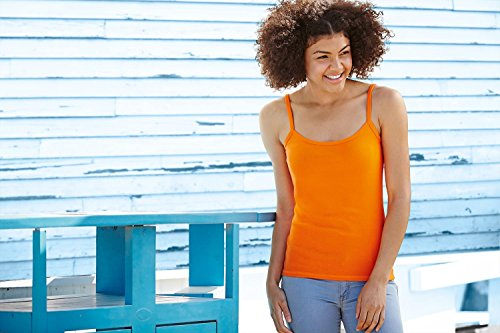 Fruit of the Loom Dame-fit sangle tee Rouge