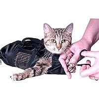 Pekki Cat Sac de toilettage durable et polyvalent Sacs conçu pour garder au chat en toute sécurité Contenue au cours de toilettage et/ou un bain
