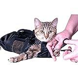 Pekki Fellpflege Katzen Tasche Langlebig und vielseitig Taschen entworfen, um Katzen Sicher während Pflege und/oder Baden