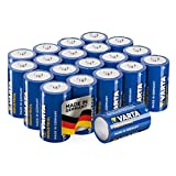 Varta Industrial Batterie D Mono Alkaline Batterien LR20-20er pack, Made in Germany