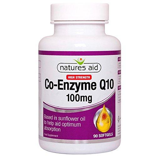 Naturen Beihilfe Co-Q-10 - 100mg (Co-Enzym Q10) 90 Tabletten (Coq10 Von Natur Aus 100mg)
