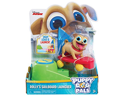 JP Puppy Dog Pals JPL94021 Rolly con Sailboard Figure