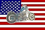 U24 Flagge Fahne USA Motorrad Harley 90 x 150 cm