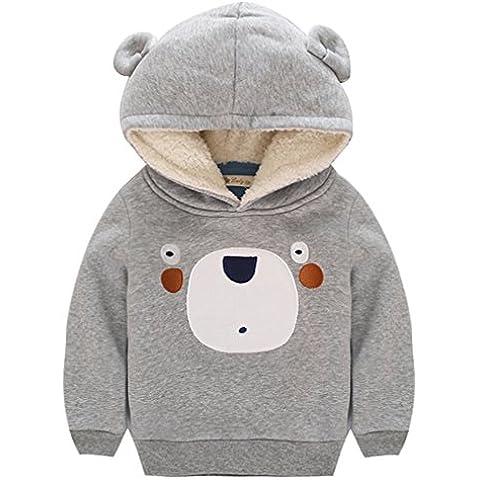 OMSLIFE Felpe per Bambini Felpa hoodie Vestiti