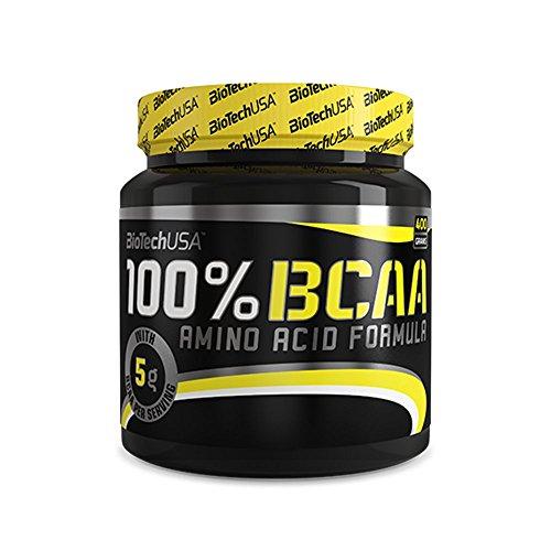 100% BCAA - Biotech USA - Aminoacidi Ramificati 400g - 51KHhgGsCrL