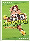 Kreisliga: Das Trinkspiel für die coolste Mannschaft der Welt - Saufspiel für Fußballer oder als Party Zubehör - Witzige Spiele für Erwachsene für Silvester