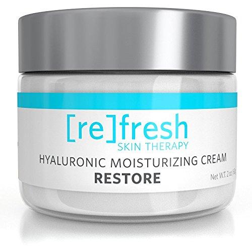 Crème Pure hydratante Hyaluronique (crème réparatrice pour peaux abimées) * Formule améliorée avec squalène et extraits botaniques