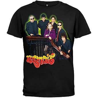 Blondie - Mens Band Shot '06 Tour T-shirt - X-Large Black