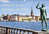Kreuzfahrt zu den Metropolen der Ostsee - Conrad Stein Verlag (Wandkalender 2019 DIN A3 quer): Der Kalender folgt den Routen der ... (Monatskalender, 14 Seiten ) (CALVENDO Orte)