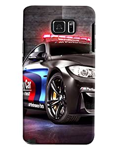 Clarks Police Car Hard Plastic Printed Back Cover/Case For Samsung Galaxy Note 5
