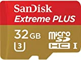 SanDisk Extreme Plus 32 GB MicroSDHC Class 10 UHS-I 80 MB/s