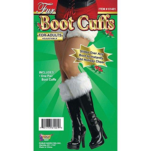 Fur Boot Cuffs (accesorio de disfraz)