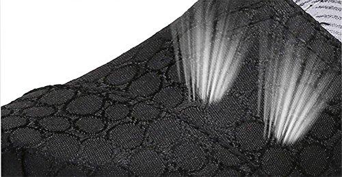 LDMB Frauen-Keil-Ferse-Segeltuch-Schüttel-Schuhe-weibliche beiläufige Sport-Schuh-Pedal-faule Schuhe Tuch-Schuhe 1720-2 black