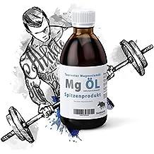 Magnesio Masaje magnesiumöl Bodybuilding Sport: 1000 ml Magnesio aceite Pur – Vegan – 1000%