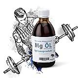 Olio per massaggi al magnesio, Bodybuilding Sport: 1000 ml, olio di magnesio puro, vegano, 100% naturale, assorbimento transdermale per una ripresa più veloce.
