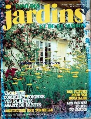 AMI DES JARDINS ET DE LA MAISON (L') [No 655] du 01/07/1979
