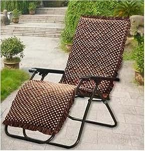 New day®-Thicker winter plush loungers cushions folding chair cushions rattan chair cushion rocking chair cushion mahogany sofa cushion mat , 52*160cm , c