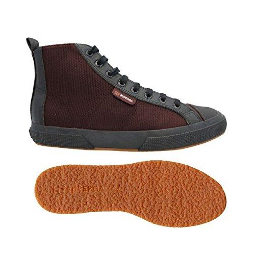 Superga, Herren 2795-Cotrbrfglm Hohe Sneakers Bordeaux