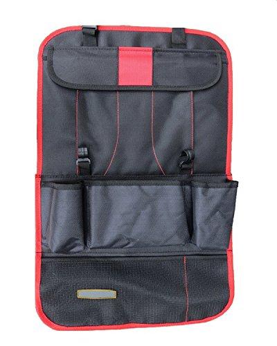 TutuShop Auto Wasserdichter Rücksitz Organizer Rückenlehnen Tasche - Rot