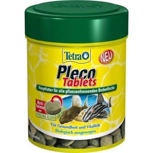 Tetra Pleco Tablets 275 Stück, Flockenfutter, Hauptfutter