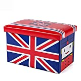 Aufbewahrungsbox Kleidung Snack Kind Spielzeug Aufbewahrungsbox Hocker Aufbewahrungsbox Zwei In Einem,F