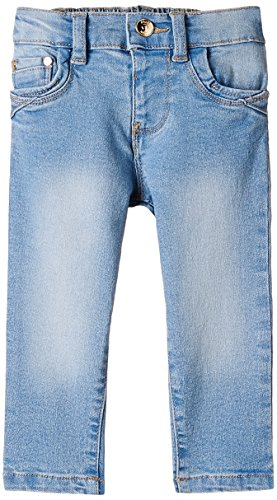 Nauti Nati Baby Girls' Jeans (NAW15-93512-18M_Lt Blue_12-18 months)