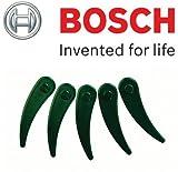 Bosch Genuine Durablade Klingen, für Bosch Rasentrimmer ART 23-18Li kabellos, Durchmesser 230 mm, 5 Stück, c/w STANLEY KeyTape Cadbury Schokoriegel