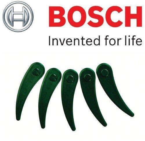 Bosch Genuine Durablade Klingen, für Bosch Rasentrimmer ART 23-18Li kabellos, Durchmesser 230 mm, 5 Stück, c/w STANLEY KeyTape Cadbury Schokoriegel -