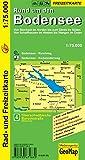Rund um den Bodensee 1 : 75 000. Rad- und Freizeitkarte (Geo Map)