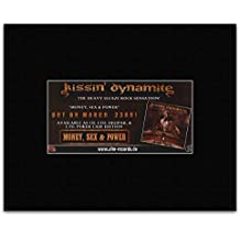 KISSIN DYNAMITE - Money Sex & Power Matted Mini Poster - 12x20cm