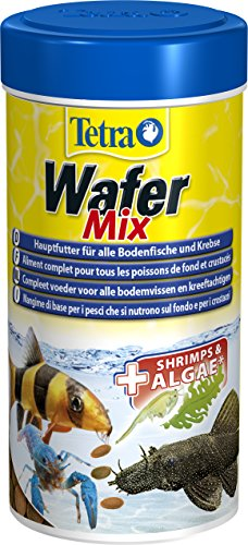 Tetra - Wafer Mix Para Peces De Fondo Y...