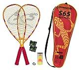 Speedminton, Set da Speed Badminton Set S65 in Fullcover 2013, Multicolore (Gelb/Rot), Taglia Unica