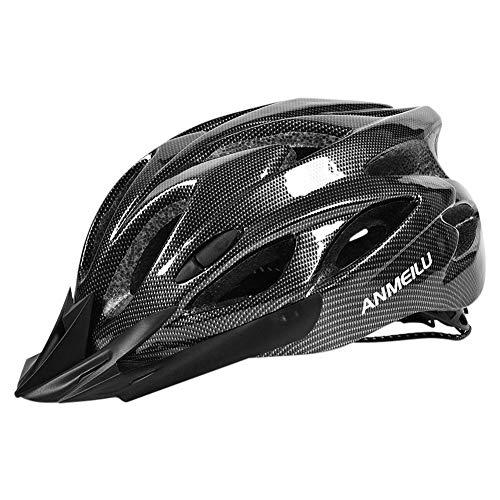 Cypressen Radhelm Fahrradhelm Motorradhelm mit Einstellbare Helm Konstruktion, Abnehmbare Hüte, 18 Belüftungsöffnungen, PC Schale, Sicher und Zuverlässig, für Männer und Frauen