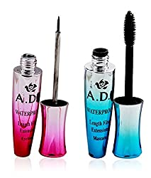 Ads Waterproof Length Fiber Eyeliner & Mascara