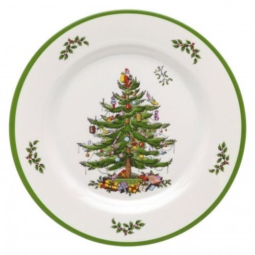 Spode Christmas Tree Melamine Dinner Plate, Set of 4 by Spode 4 Spode Christmas Tree