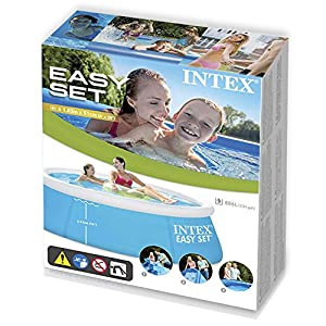 Intex 28101 My First Easy Cm 183X51 Piscina Gioco Estivo Estate Giocattolo 264, PVC, Multicolore, 183 x 51 cm